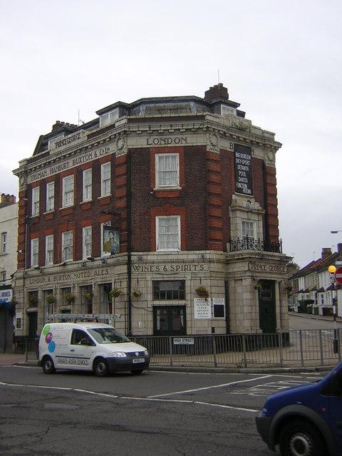 Prince George pub, Thornton Heath High Street
