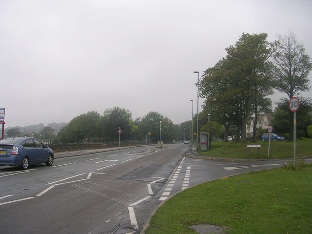 Leeds Road - viewed from Layton Lane