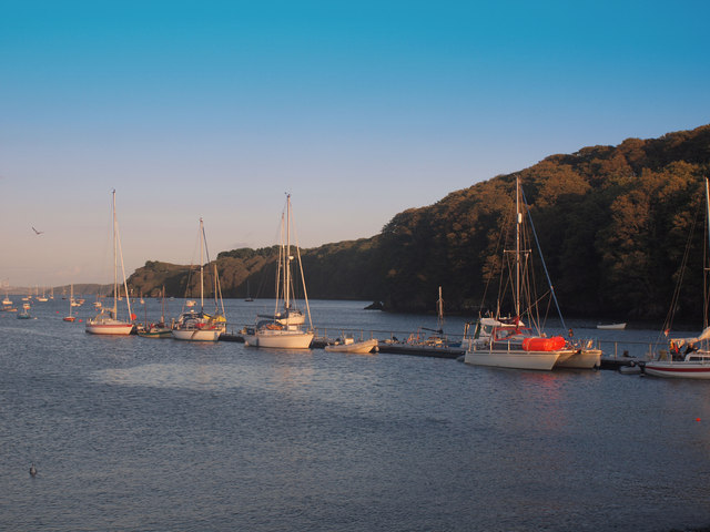 Boats at Dale in the evening