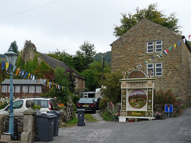 Well Dressing, Town Head, Eyam