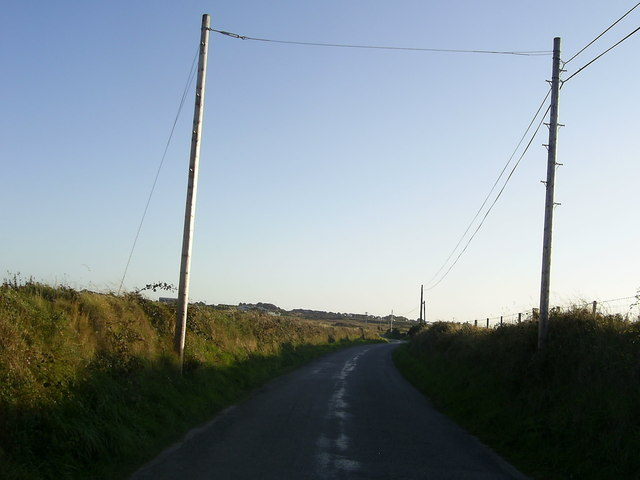Country Road heading for St David's