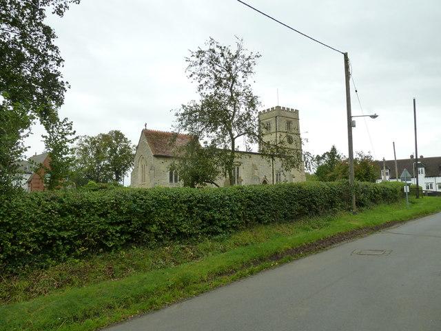 St. John the Baptist, Granborough in early September