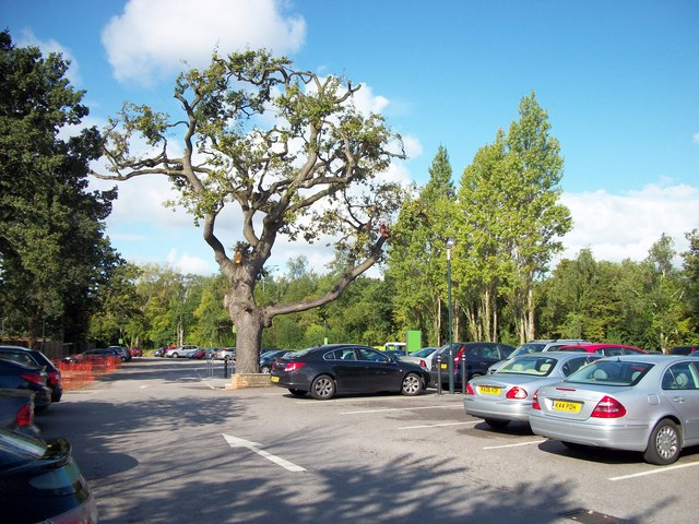 Waitrose carpark Frimley