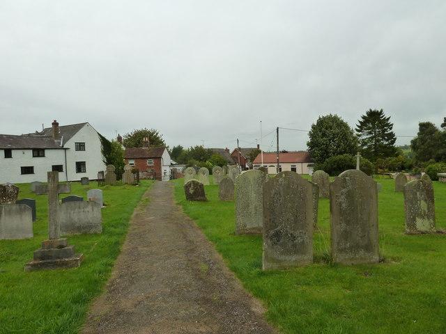 Path leading from Soulbury parish church