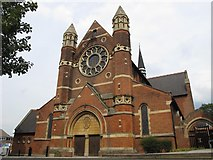TQ2284 : The Parish Church of St. Andrew, Willesden Green by Mike Quinn