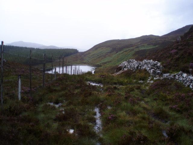 Loch Tarff - Knockie path from Knockie side