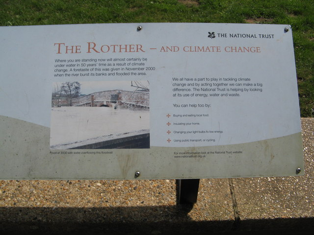 River Rother and Climate Change Notice