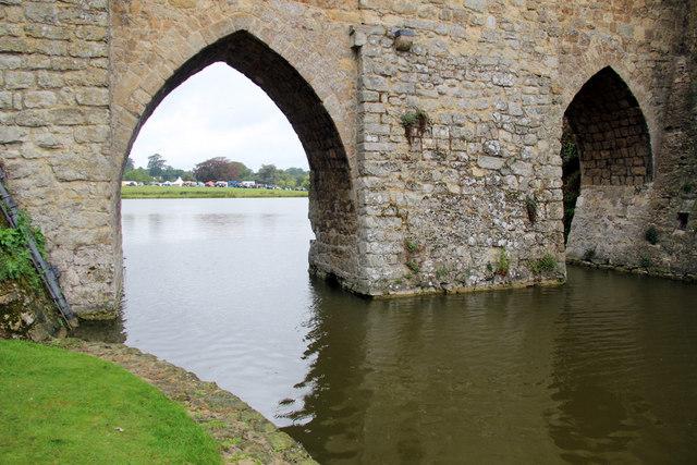 Archway, Leeds Castle, Kent