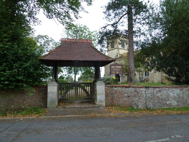 Lych gate, Holy Trinity Drayton Parslow
