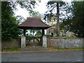SP8328 : Lych gate, Holy Trinity Drayton Parslow by Basher Eyre