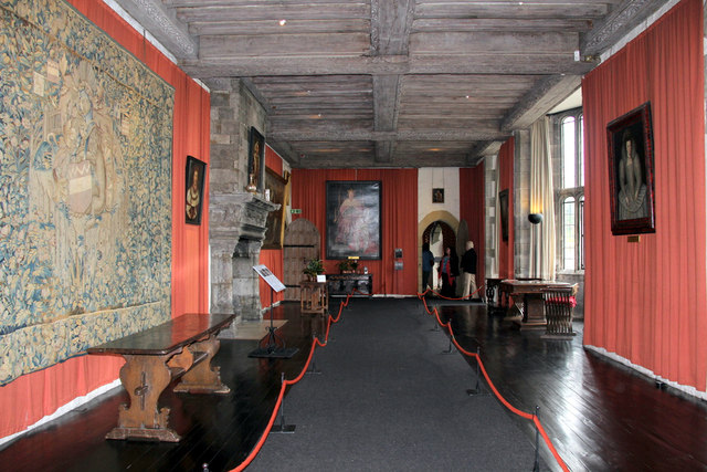 Interior of Leeds Castle, Kent