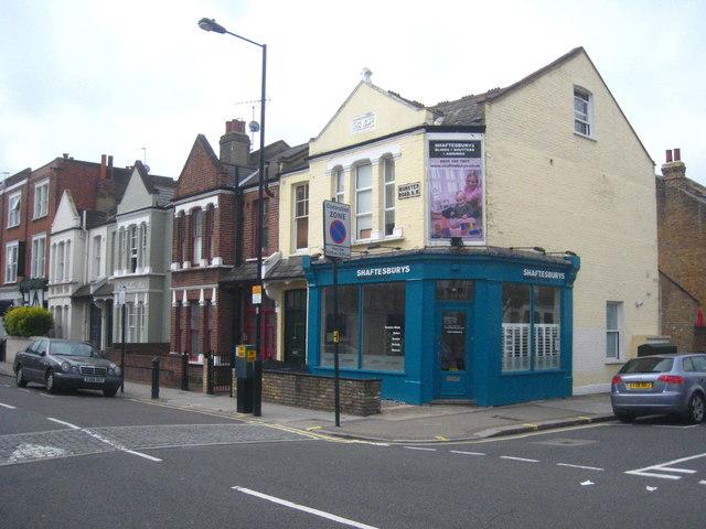 A Fulham corner shop