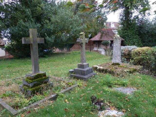 Holy Trinity, Drayton Parslow- crosses