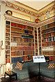 TQ8353 : Library, Leeds Castle, Kent by Christine Matthews