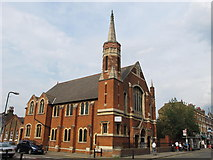 TQ2284 : Willesden Green Baptist Church, High Road, NW2 by Mike Quinn