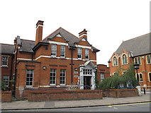 TQ2284 : Willesden Green Police Station, High Road, NW2 by Mike Quinn