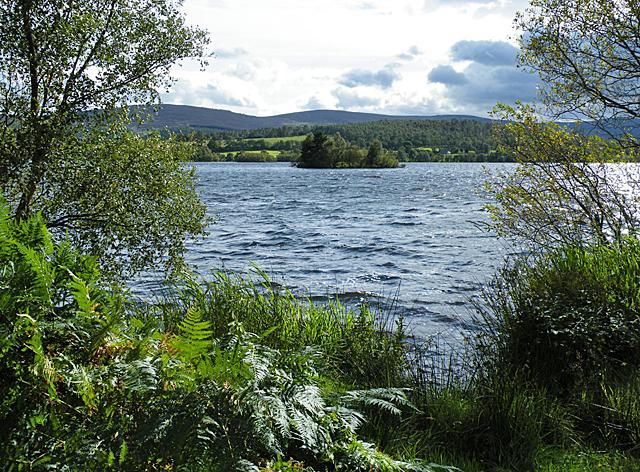 Loch Kinord Crannog