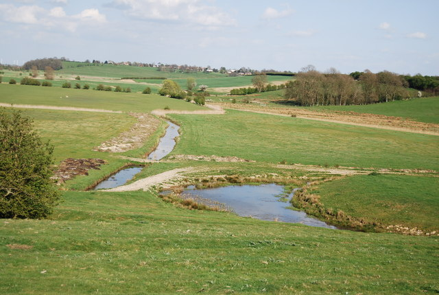 Pond in the Brede Valley