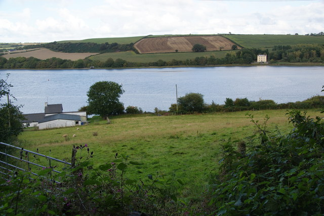 Bryn-du and the Teifi estuary
