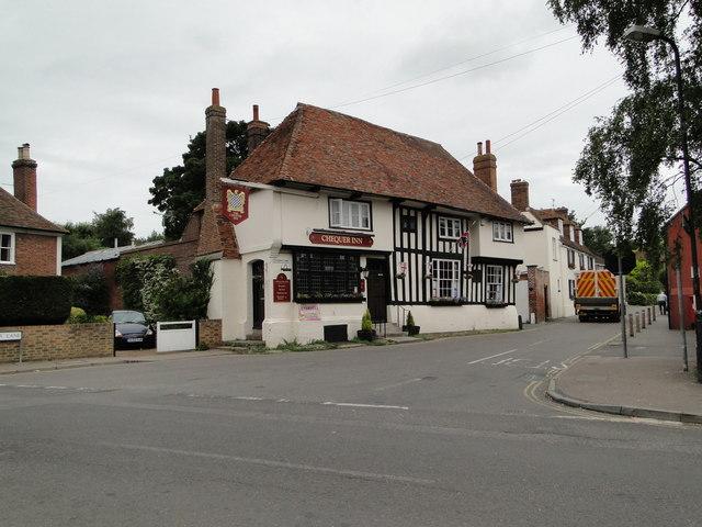 Chequer Inn, Ash