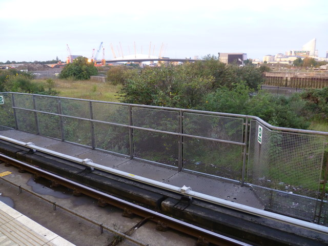 View from Canning Town DLR station