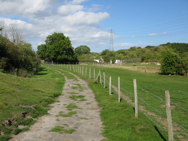 Bridleway through Thornton Farm