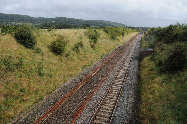 The Bristol to Exeter railway