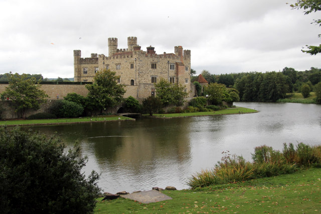 Leeds Castle and Moat, Kent