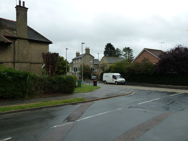 Looking from St Mary's Way into Soulbury Road