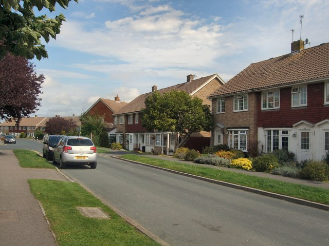 Houses in Springett Avenue, Ringmer
