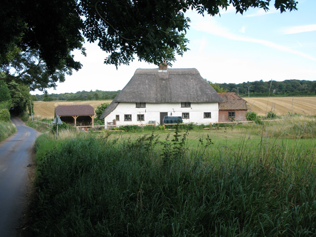 Venson Farm from the west