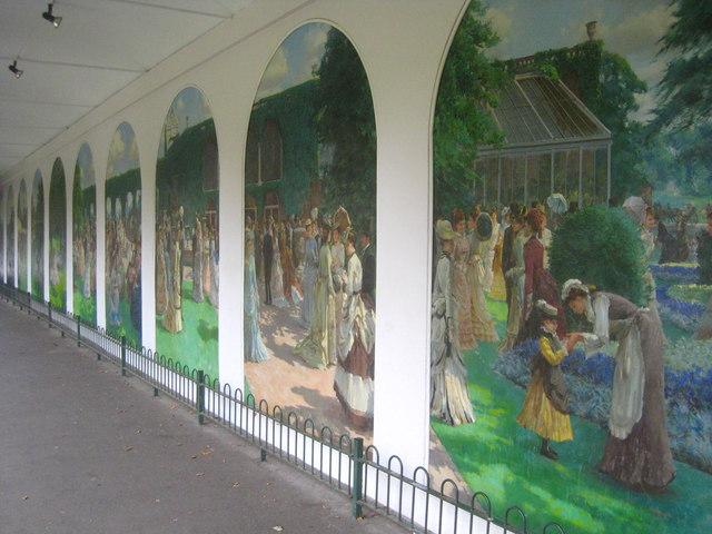 Holland Park murals