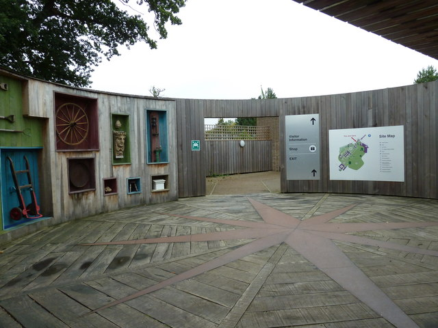 Stockwood Discovery Centre in early September