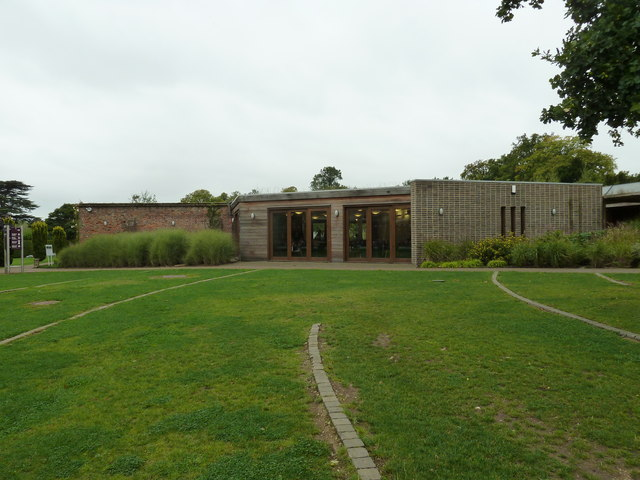 The café at Stockwood Discovery Centre