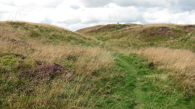 The summit, Benarty Hill