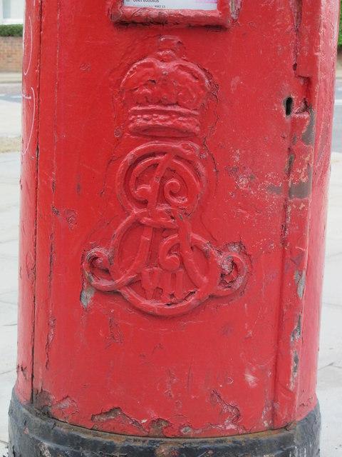 Edward VII postbox, Staverton Road / Brondesbury Park, NW2 - royal cipher