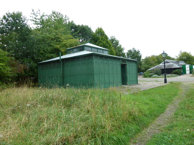 Public toilets at Chiltern Open Air Museum