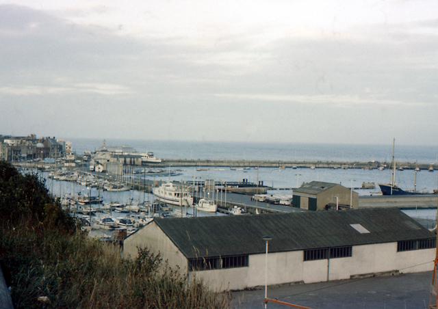 Ramsgate harbour circa 1979