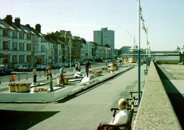 The promenade at Herne Bay circa 1979