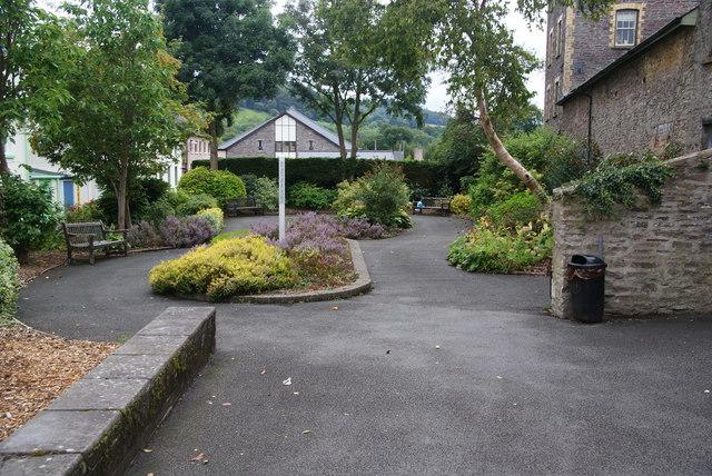 Peace garden, Brecon