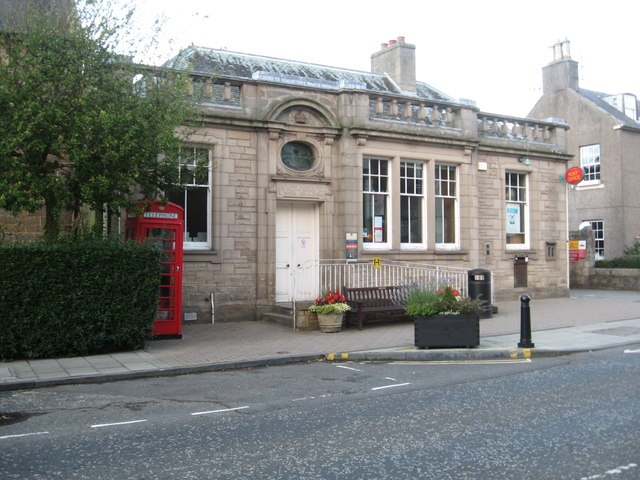 The post office in Melrose