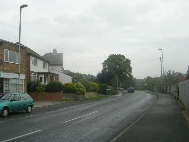 Hall Lane - viewed from West End Rise