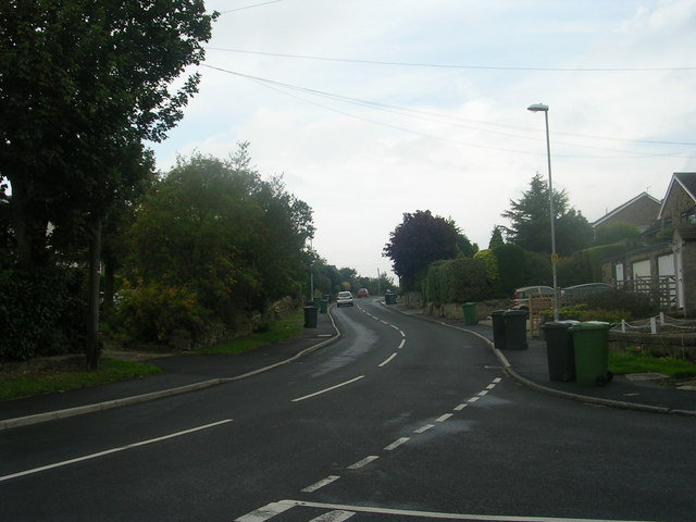 West End Lane - viewed from West End Rise