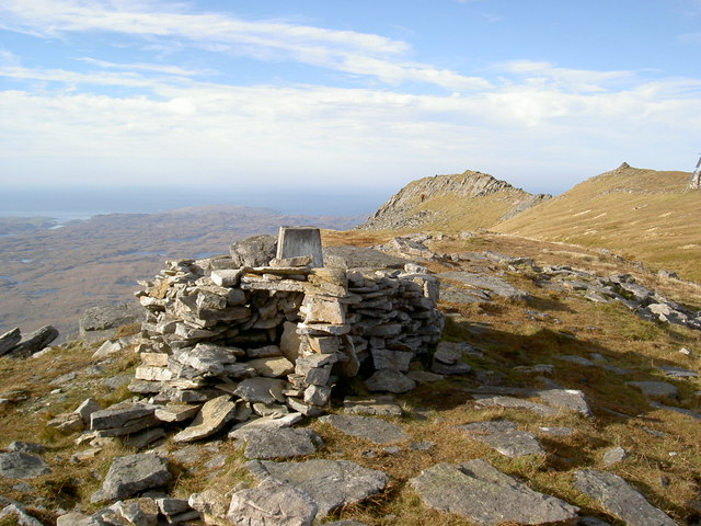 Summit ridge of Ben Stack