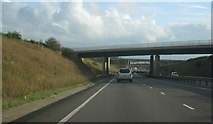 SU4773 : A34 passing under the M4 by Given Up