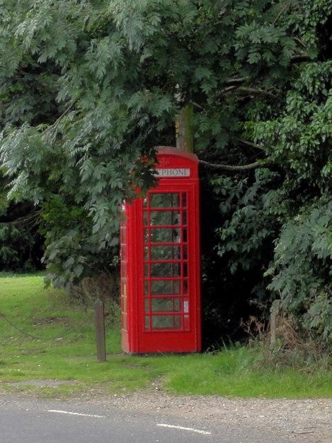 Coldred, Church Road, Telephone Box