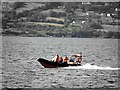 C3233 : Lifeboat patrol, Lough Swilly by Kenneth  Allen
