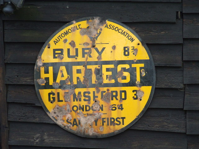 Old AA Sign