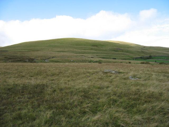 Hillside above Calebreck Farm