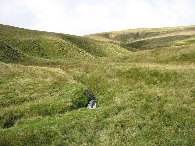 The upper Carrock Beck